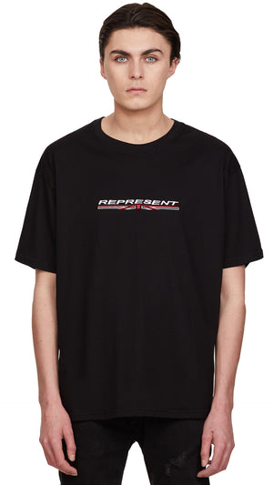 Stretch Logo T-shirt - Black