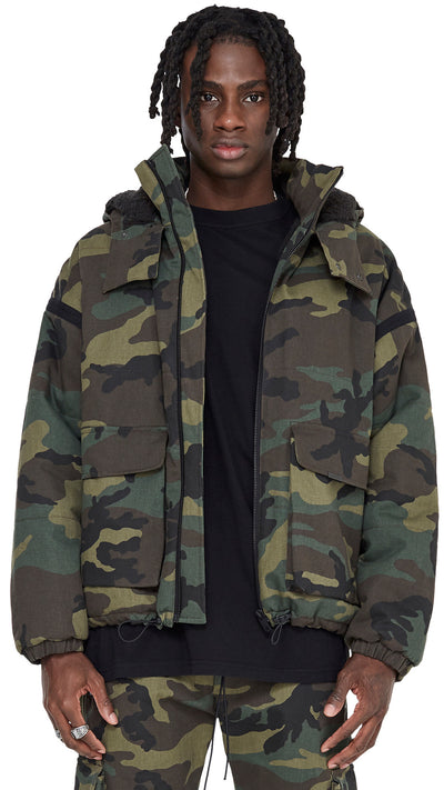 Bubble Jacket - Camo