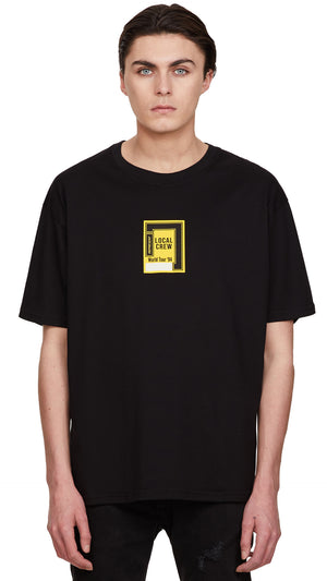 Local Crew T-shirt - Black