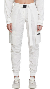 Women's Technical Military Pants - White