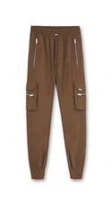 Military Pant - Brown Nylon