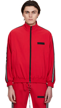 Tracksuit Jacket - Red