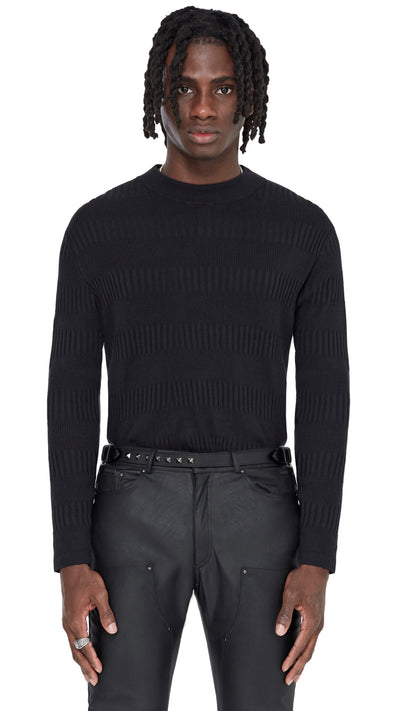 Roll Neck - Black
