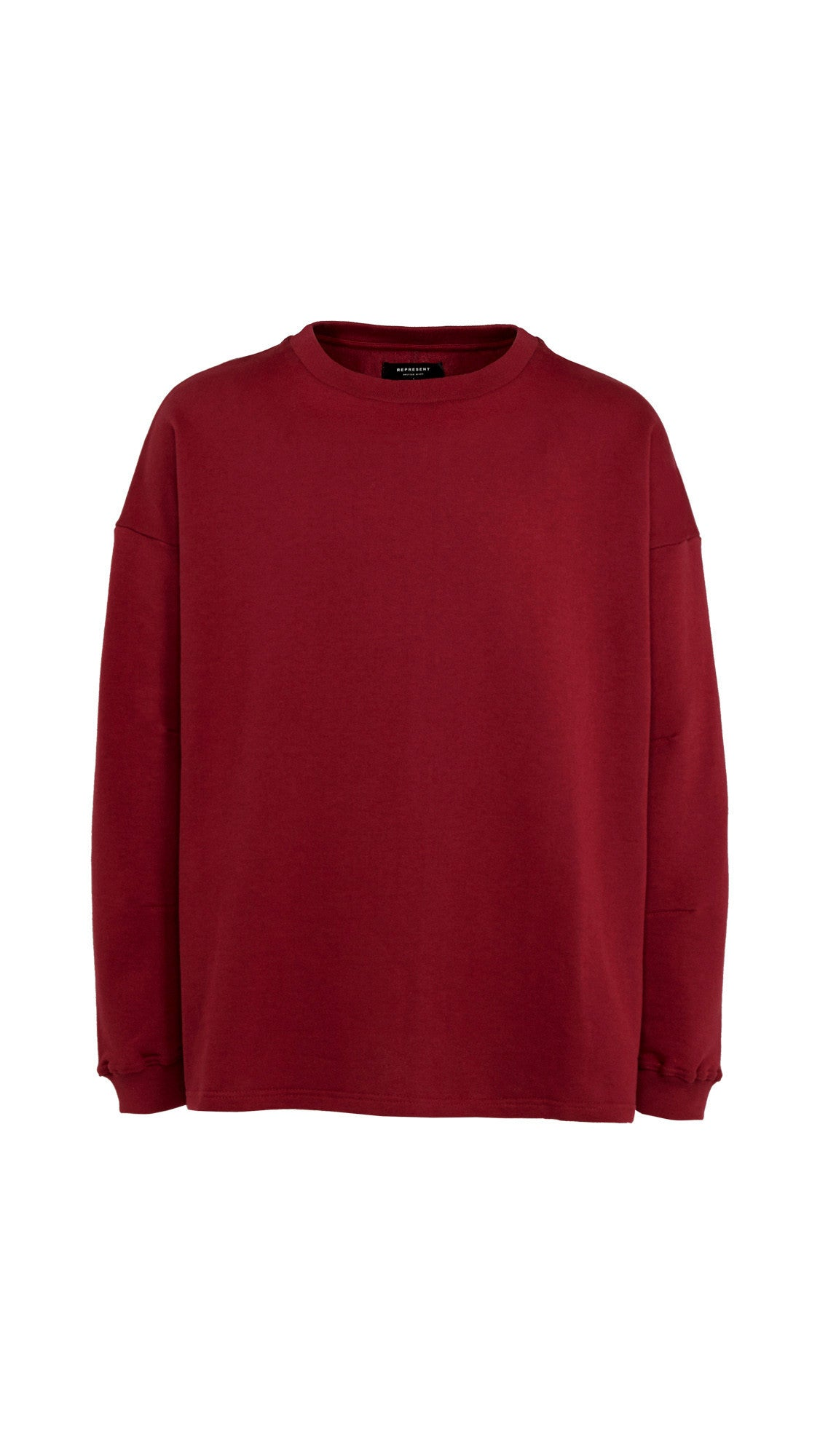 Heavy Long Sleeve Over T-shirt - Ox Blood