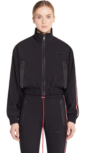 Women's Track Jacket - Black