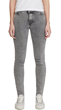 Women's Essential Denim - Acid Grey