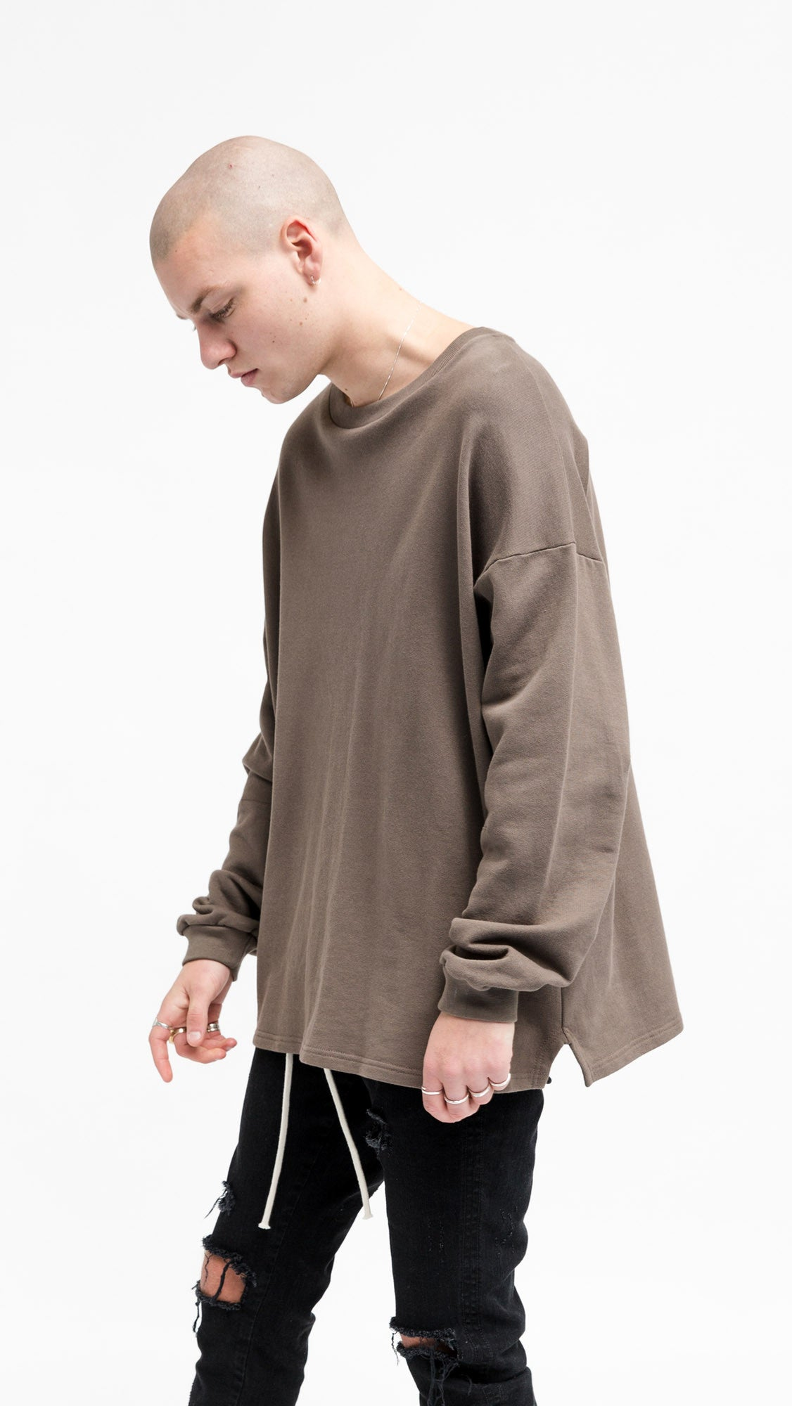 Heavy Long Sleeve Over T-shirt - Talpa
