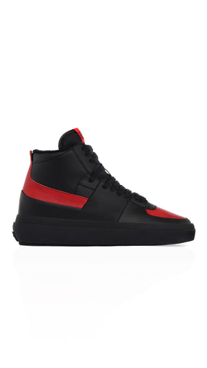 Alpha Mid - Black/Red