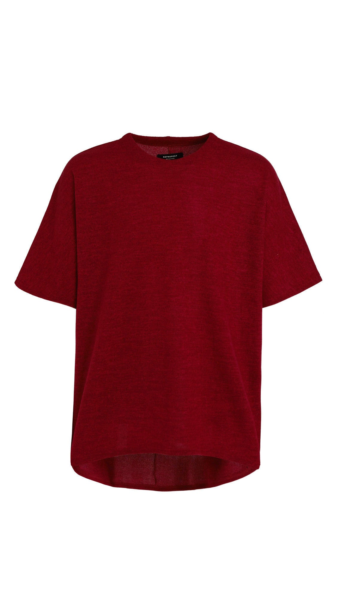 Scallop T-shirt - Ox Blood