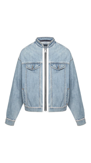 Selvedge Denim Jacket - Blue