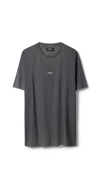 Regular Fit T-shirt - Washed Black