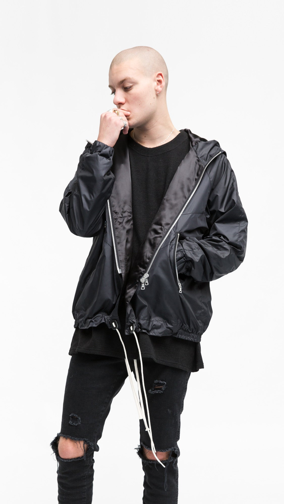 Zip Up Jacket - Onix