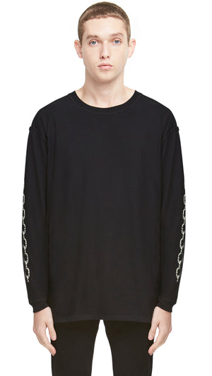 Represent Records Long Sleeve T-shirt - Black