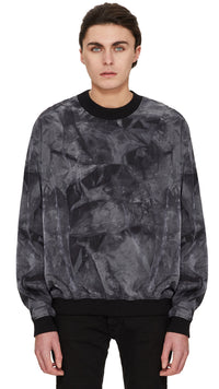 Technical Sweater - Black Tie Dye