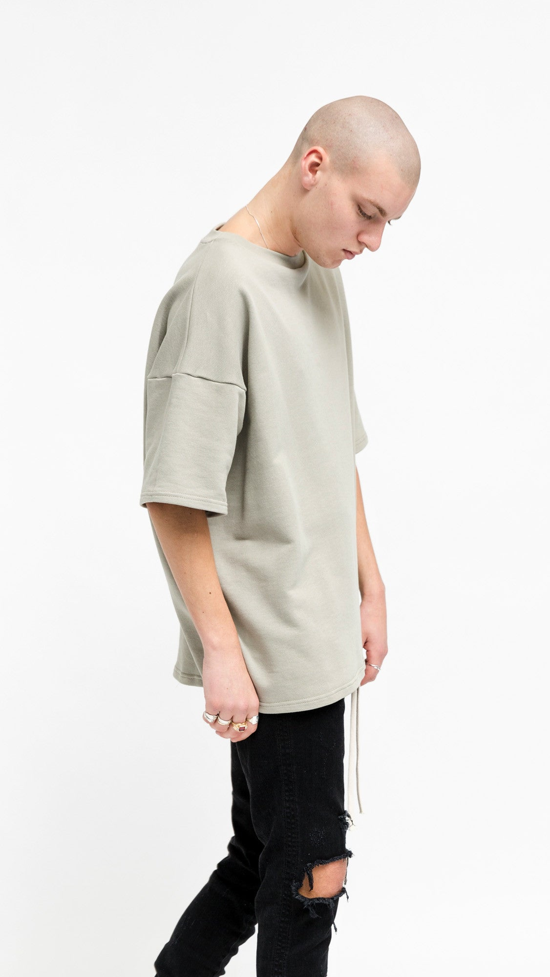 Heavy Over T-shirt - Pastel