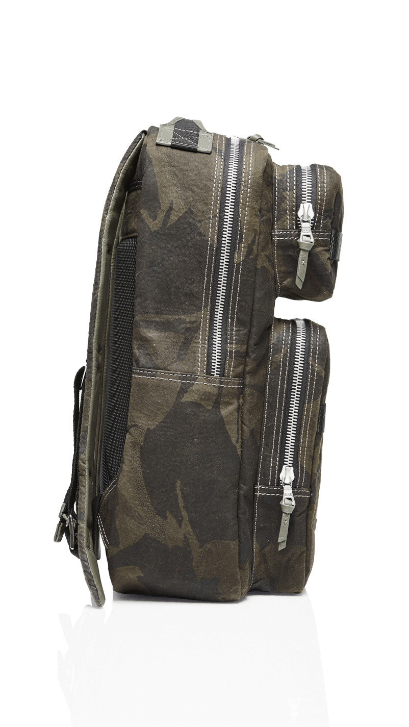 Tactical Backpack - Camo Beeswax