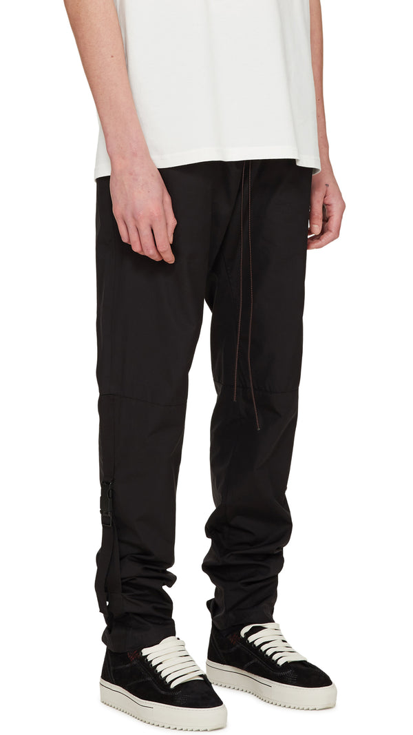 Buckle Track Pants - Black/Red
