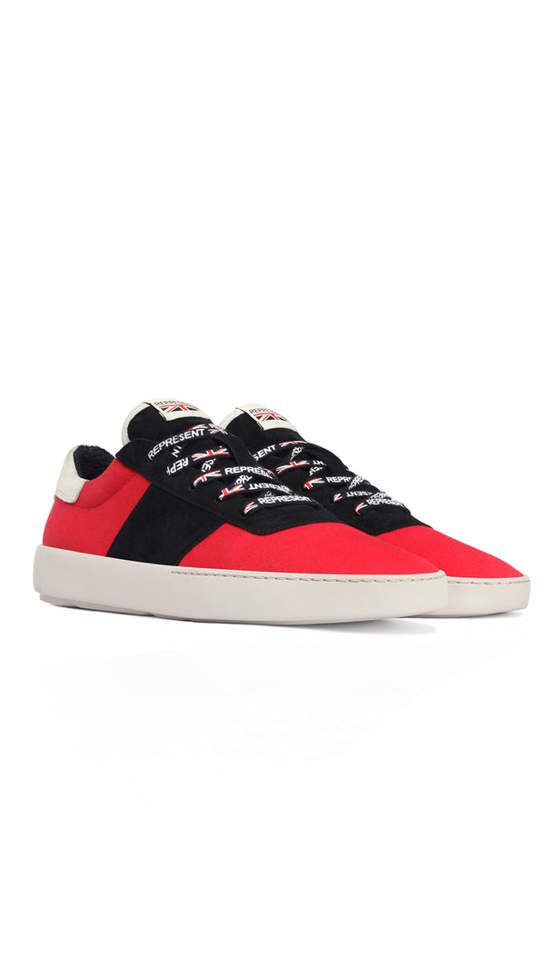 Court Sneaker - Red