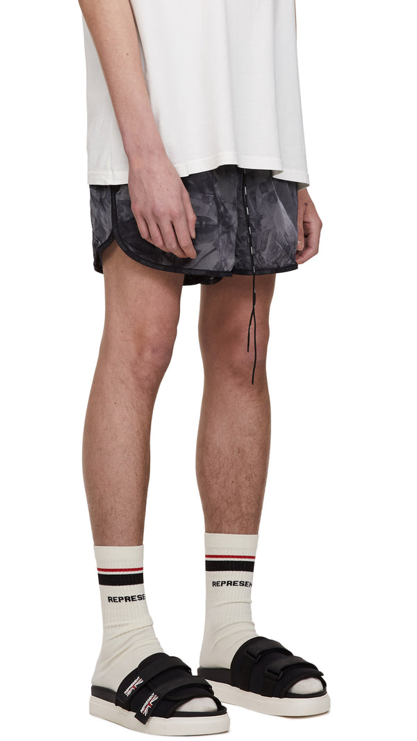 Swim Shorts - Black Tie Dye