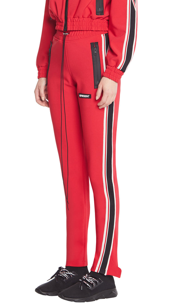 Women's Track Pants - Red