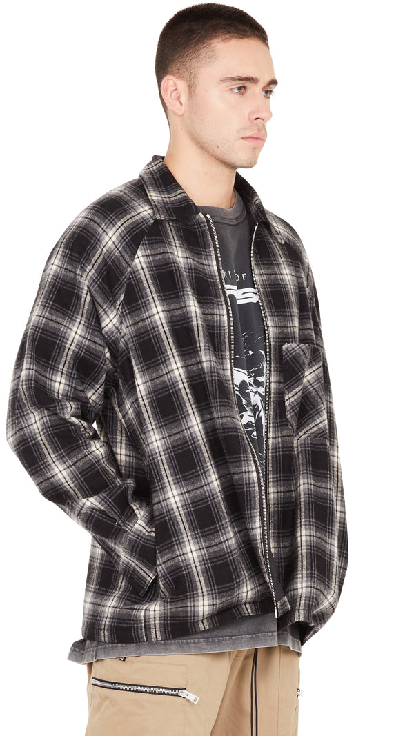 Flannel Shirt - Black