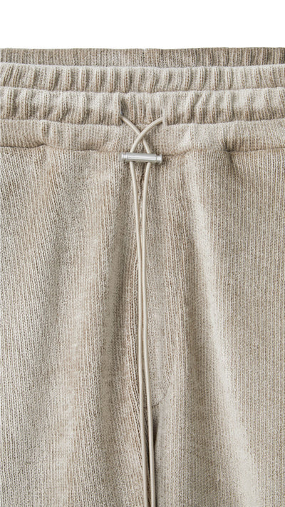 Towel Shorts - Almond