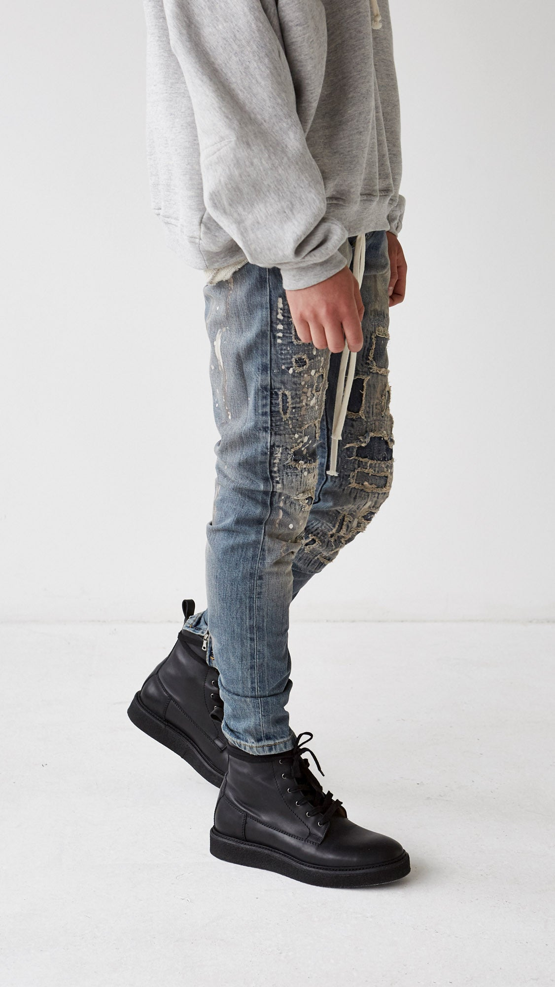 Repairer Selvedge Denim - Blue