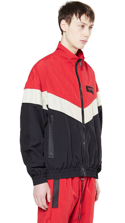 Shell Jacket - Red/Black