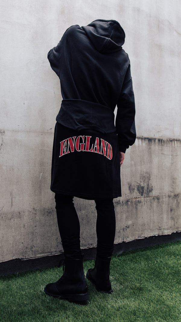 England Long Sleeve T-Shirt - Black
