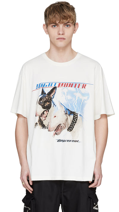 Night Hunter T-Shirt - Vintage White