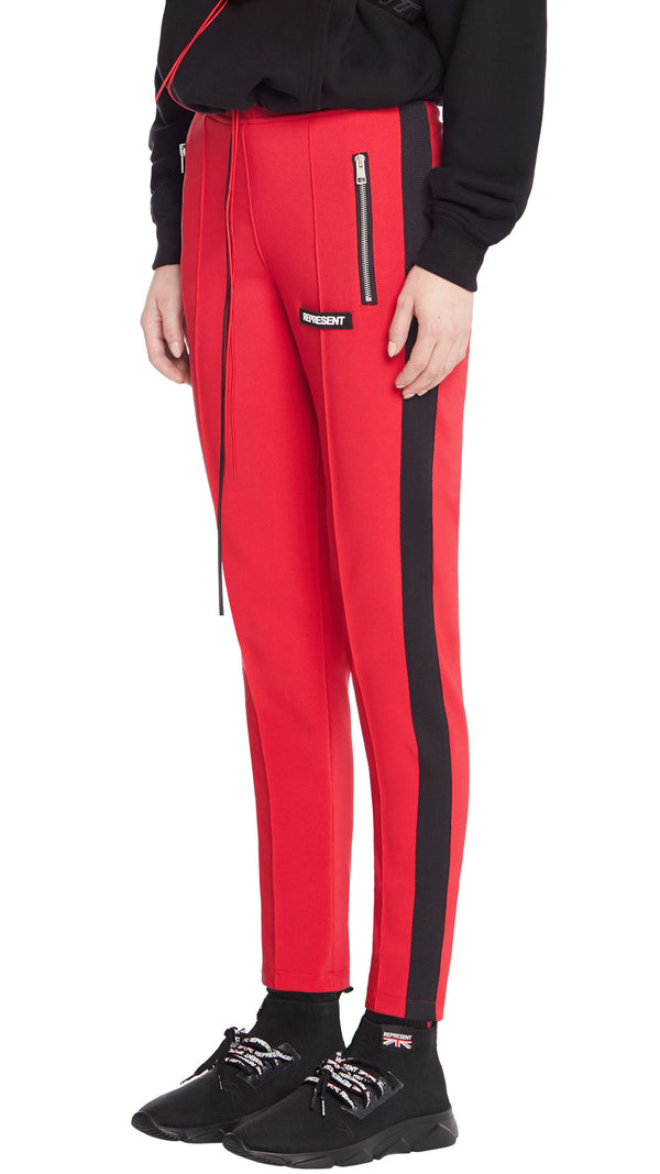 Women's Stirrup Pants - Red