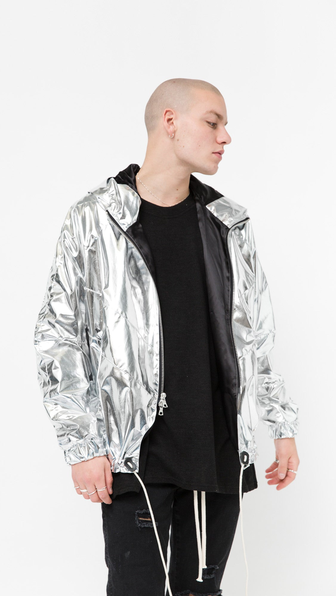 Zip Up Jacket - Foil