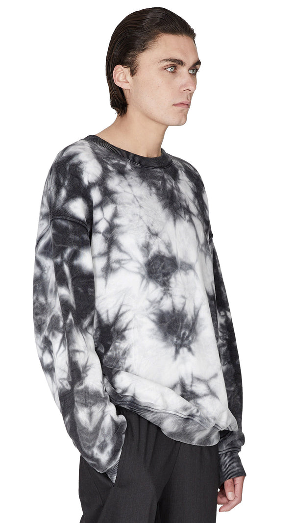 Sweater - Black Marble