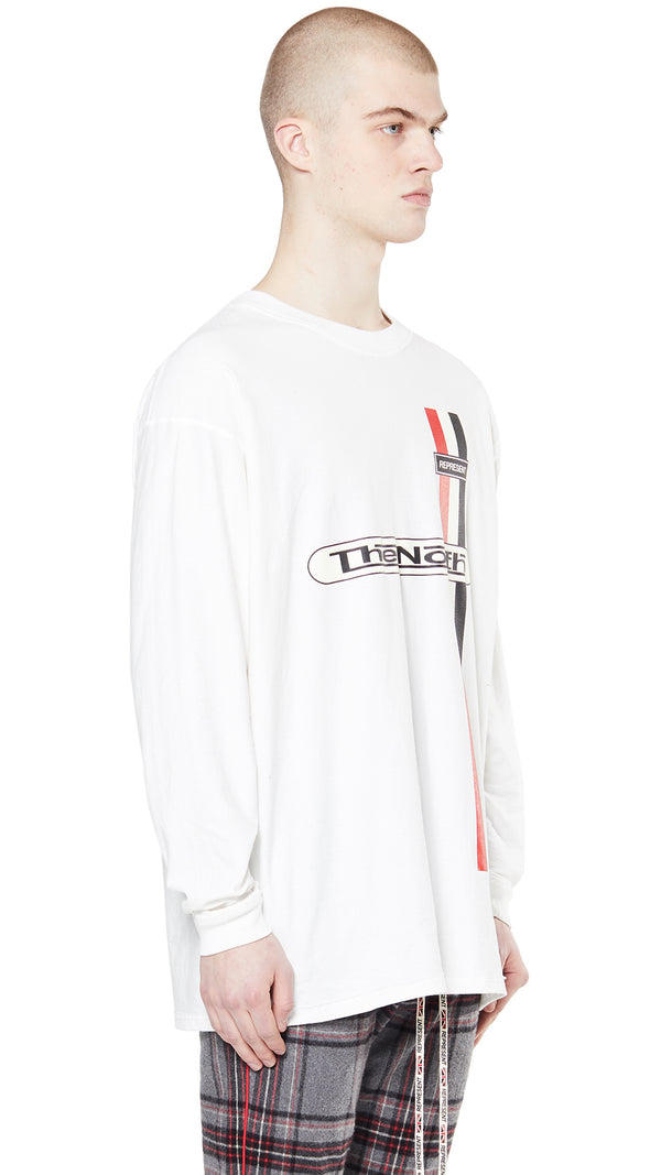The North Long Sleeve T-shirt - White