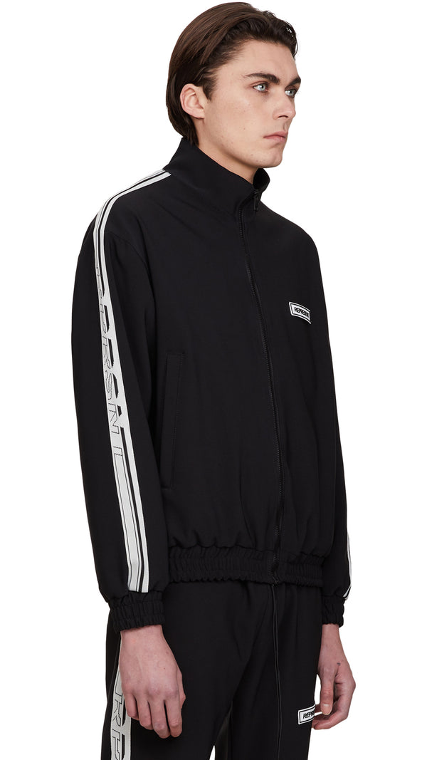 Tracksuit Jacket - Black