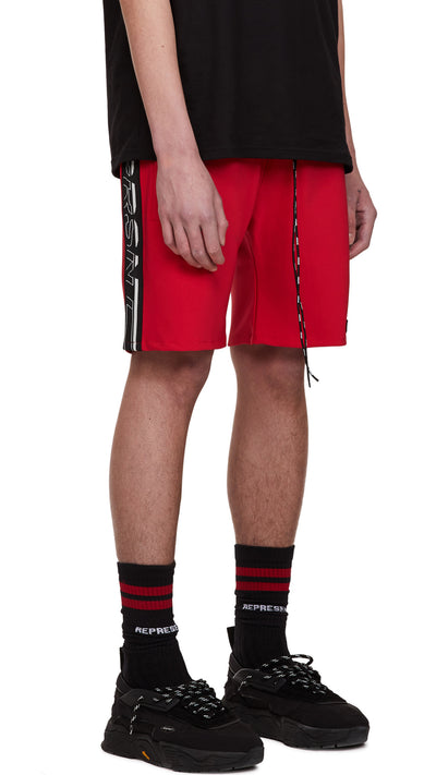 Track Shorts - Red