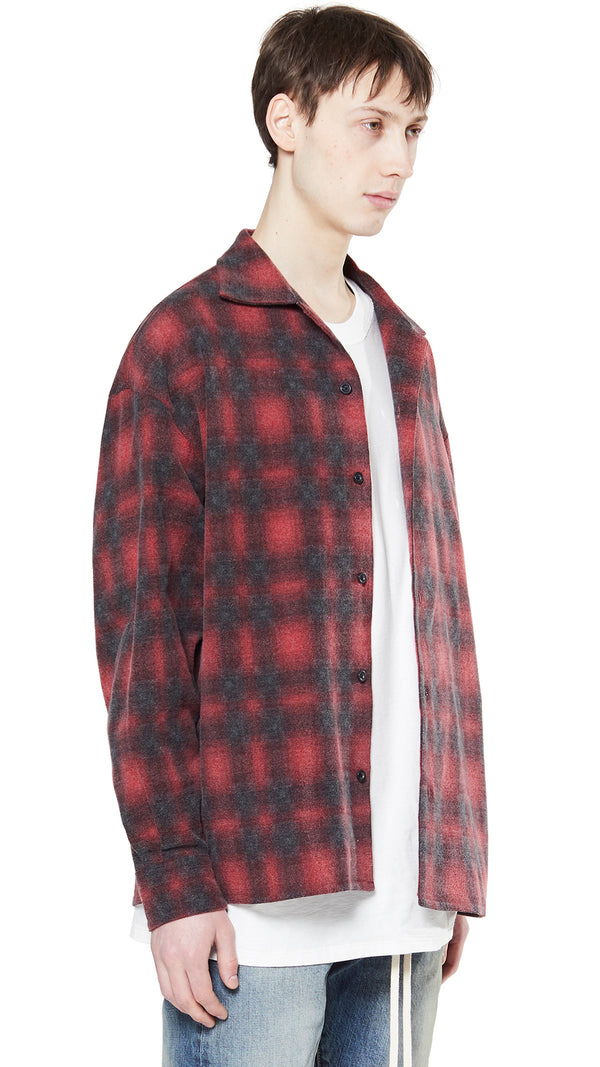 Western Shirt - Red