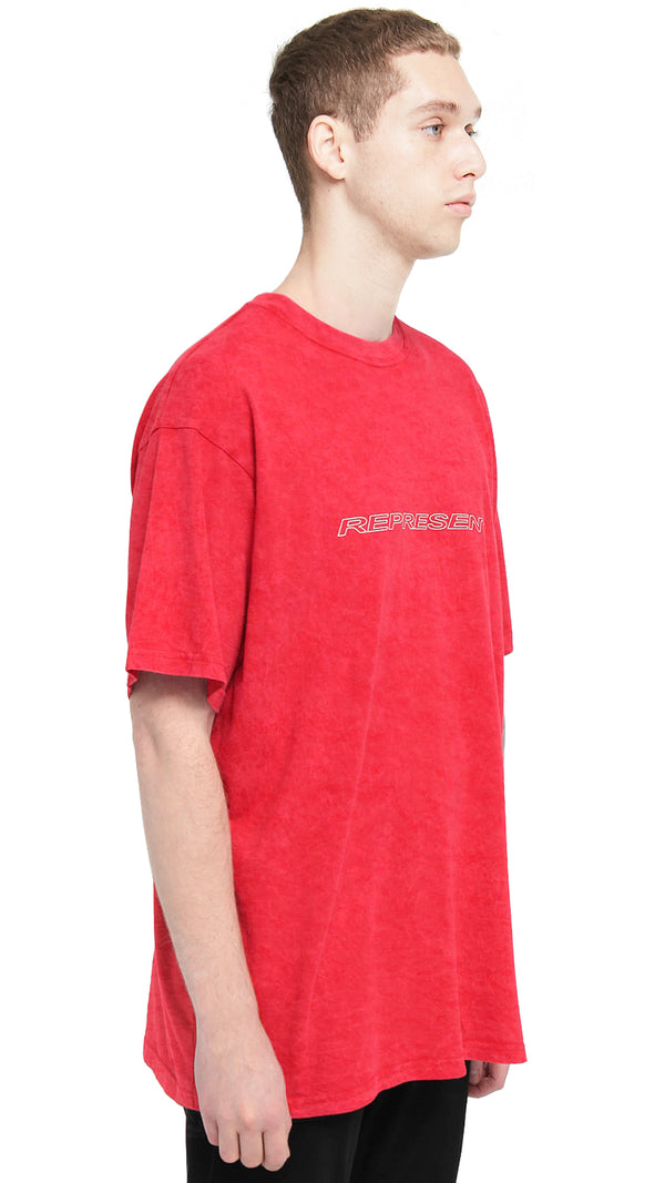 Racer T-Shirt - Washed Red