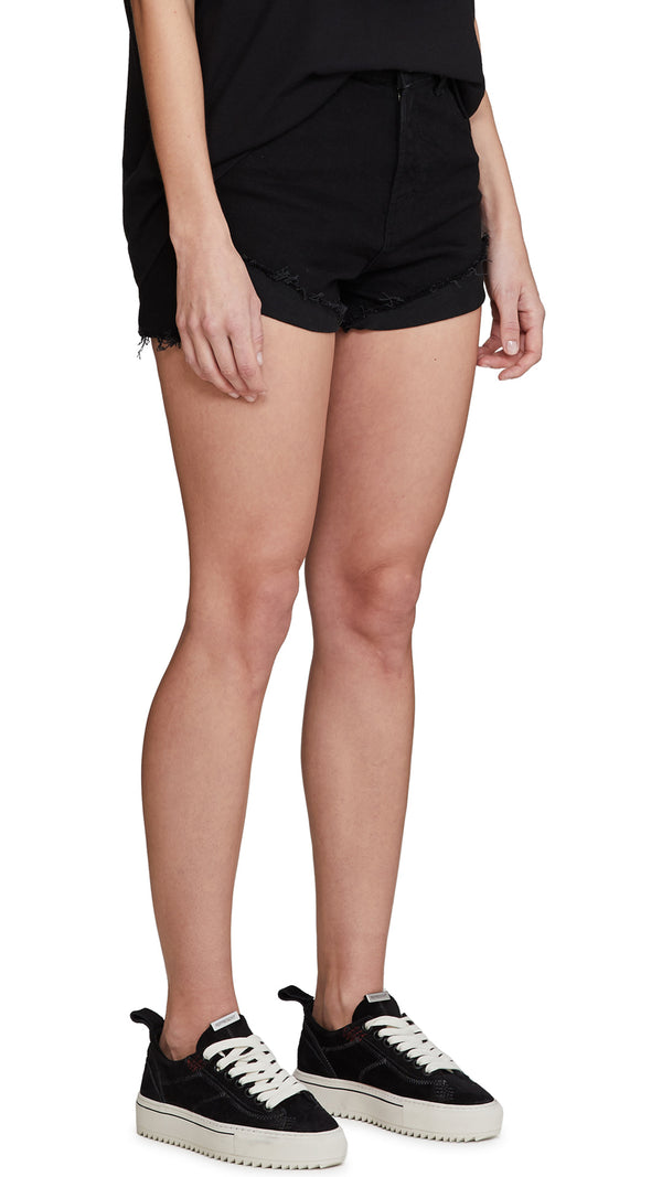 Women's Denim Short - Black