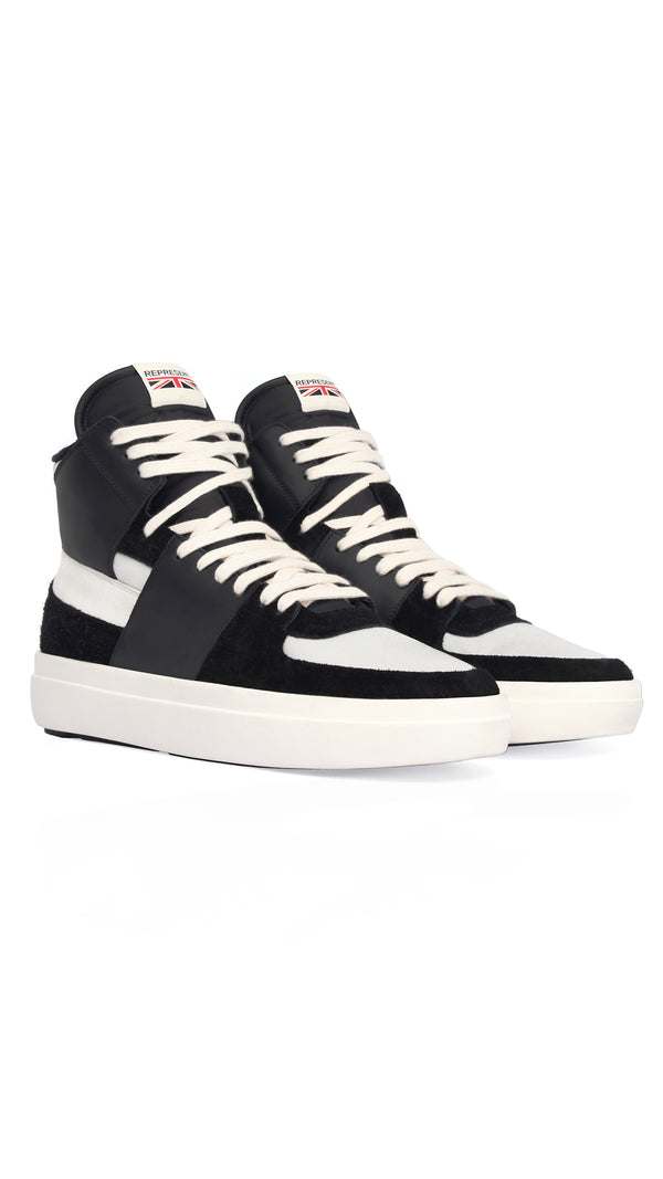 Alpha Mid - Black/White