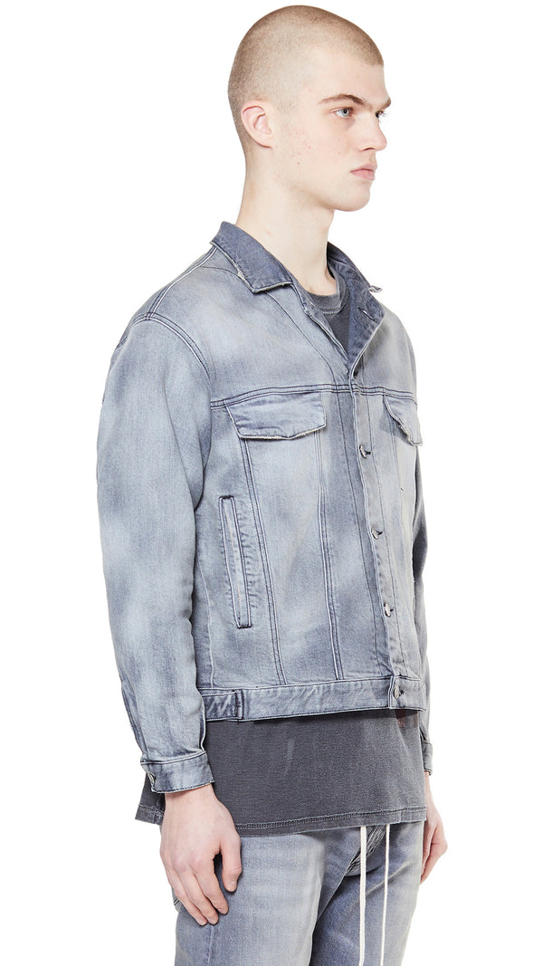Denim Jacket - Fog