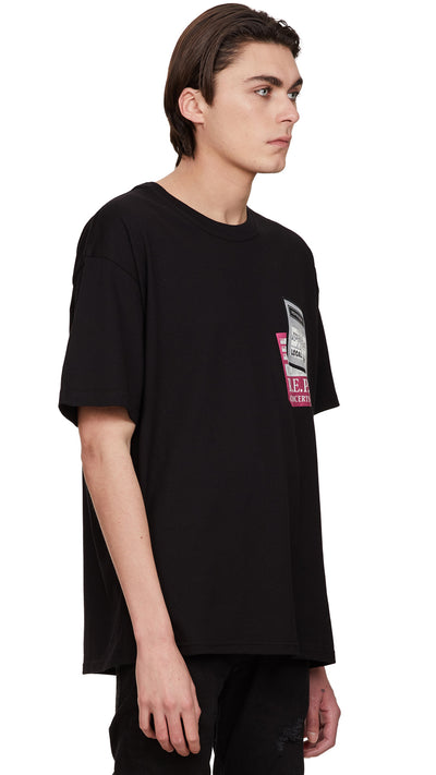 Tour Patch T-shirt - Black