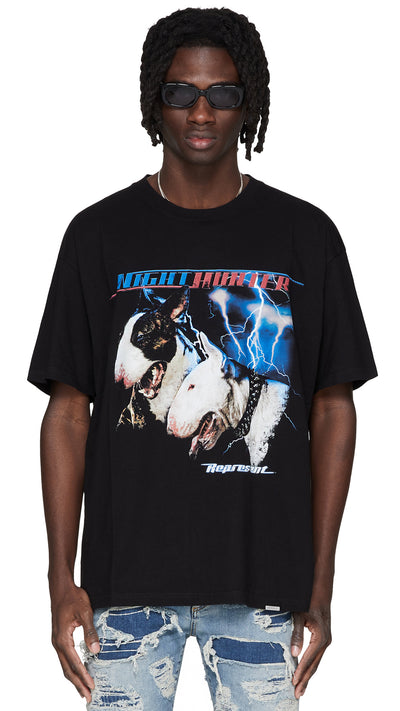 Night Hunter T-Shirt - Black
