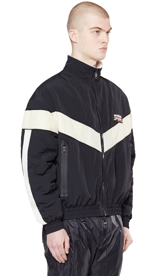 Shell Jacket - Black/White