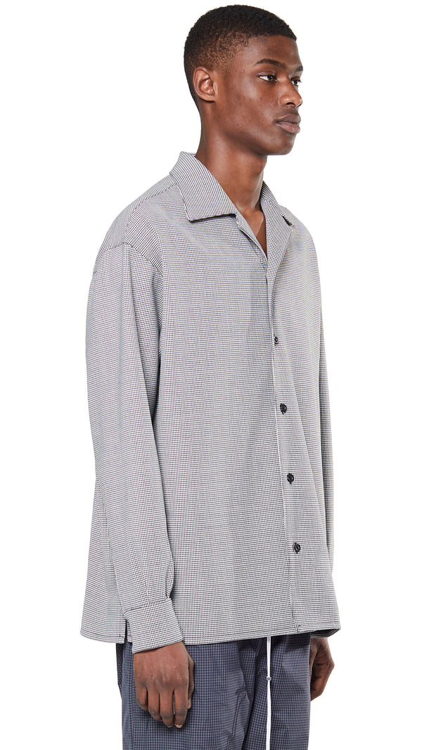 Western Shirt - Houndstooth
