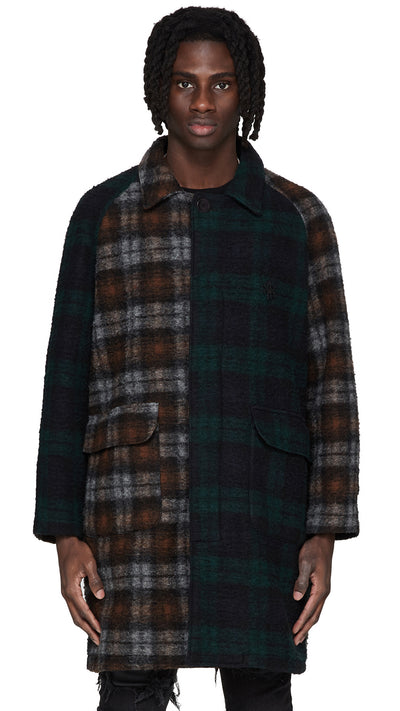 Split Overcoat - Split Check