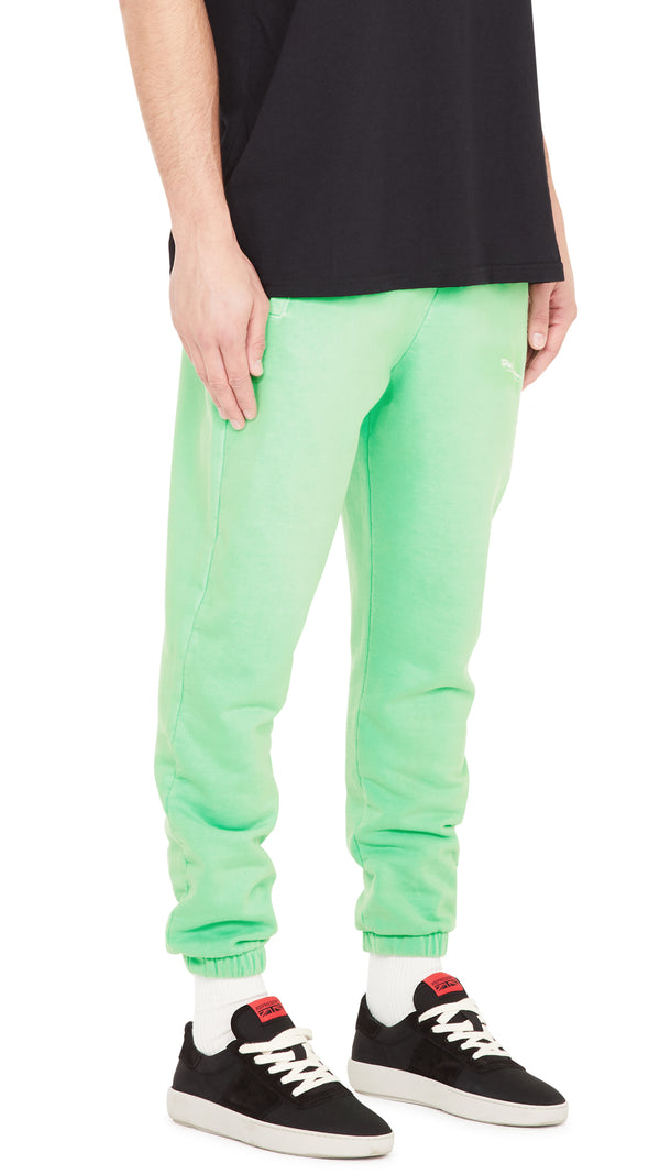 Signature Sweatpants - Vintage Neon Green