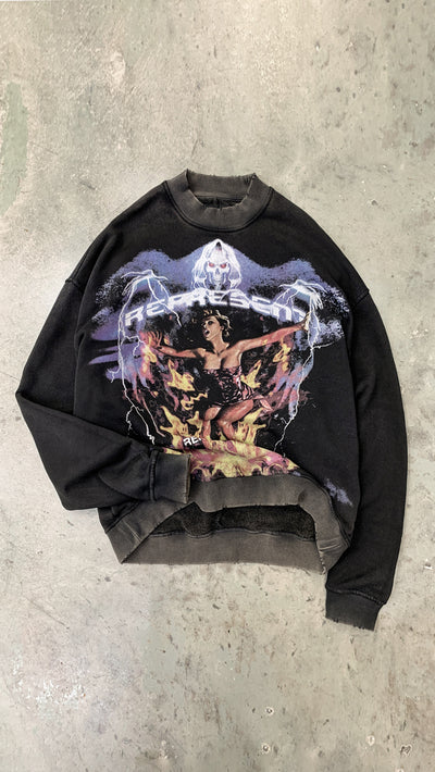 Spirit Reaper Sweater - Vintage Black
