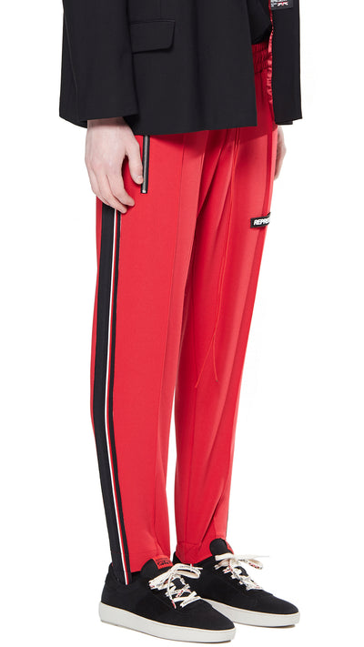 Stirrup Pants - Red
