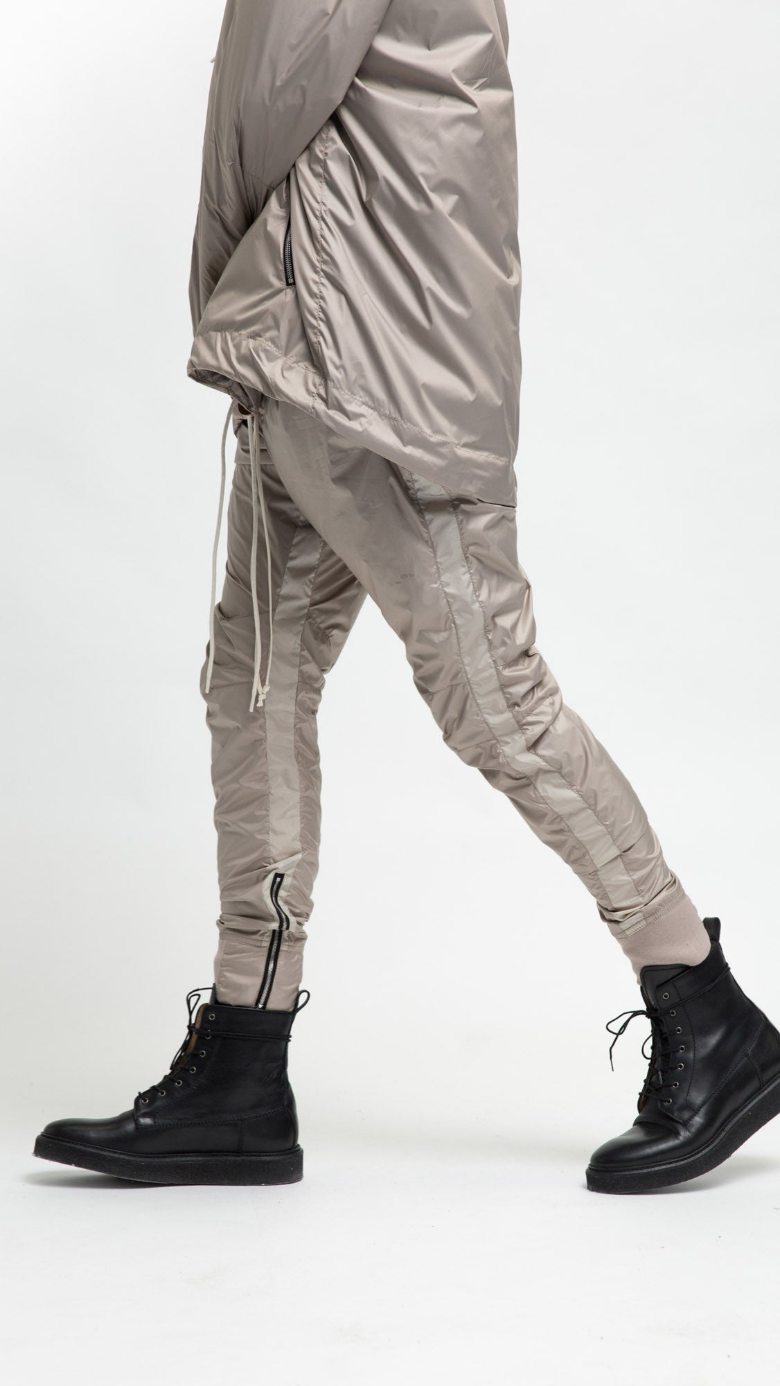 Stomper Track Pants - Bone